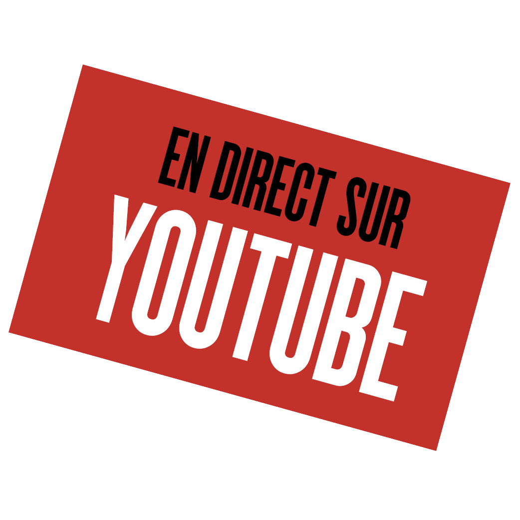 En direct sur YouTube